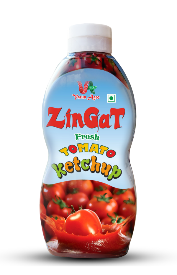 ZinGat -Tomato Ketchup 450 GM Plastic Bottle