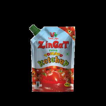 ZinGat -Tomato Ketchup 950 GM Pouch