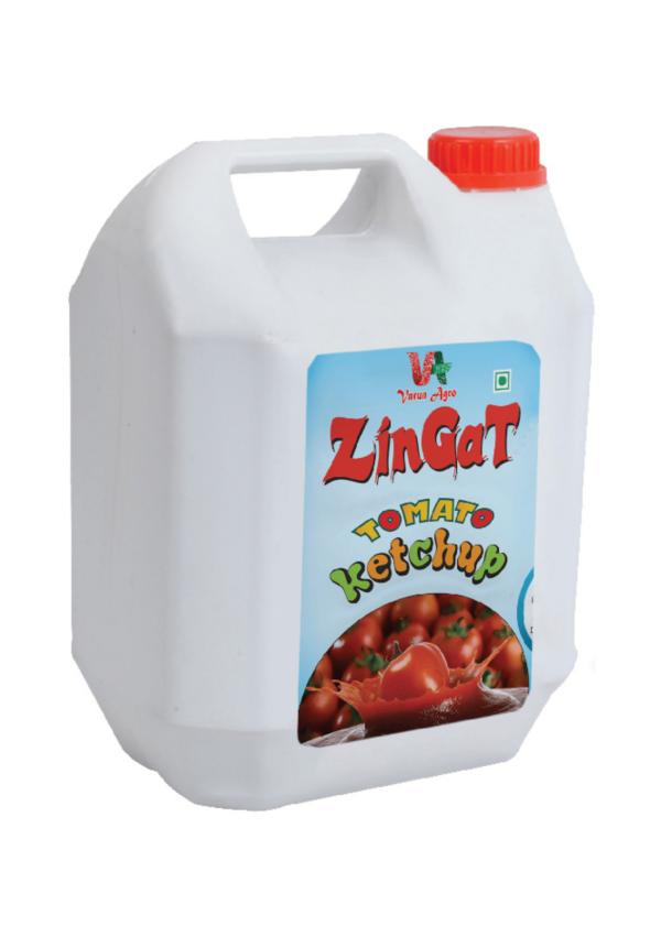 ZinGat -Tomato Ketchup 5 KG Can