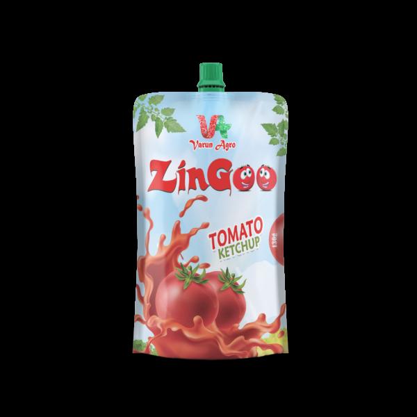 ZinGoo -Tomato Ketchup 130 GM Pouch